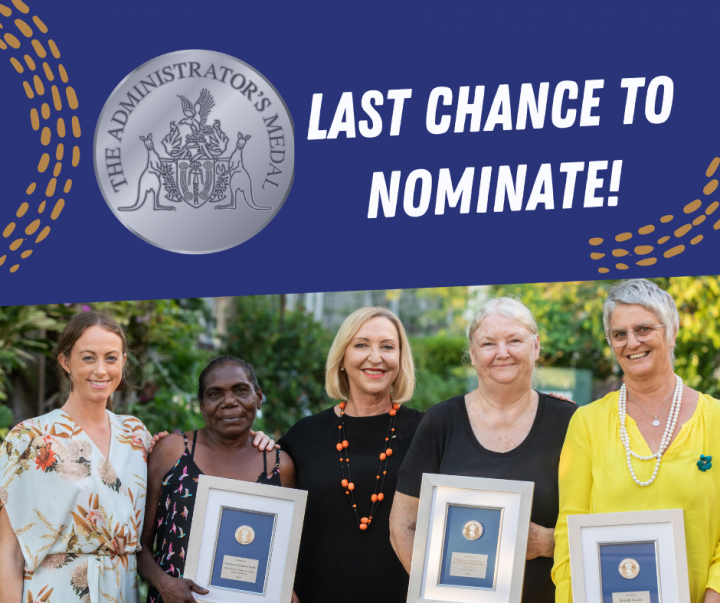 Last Chance to Nominate! Administrator Medals 2020