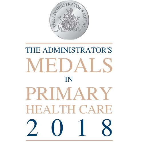 Administrator's Medals in Primary Health Care 2018