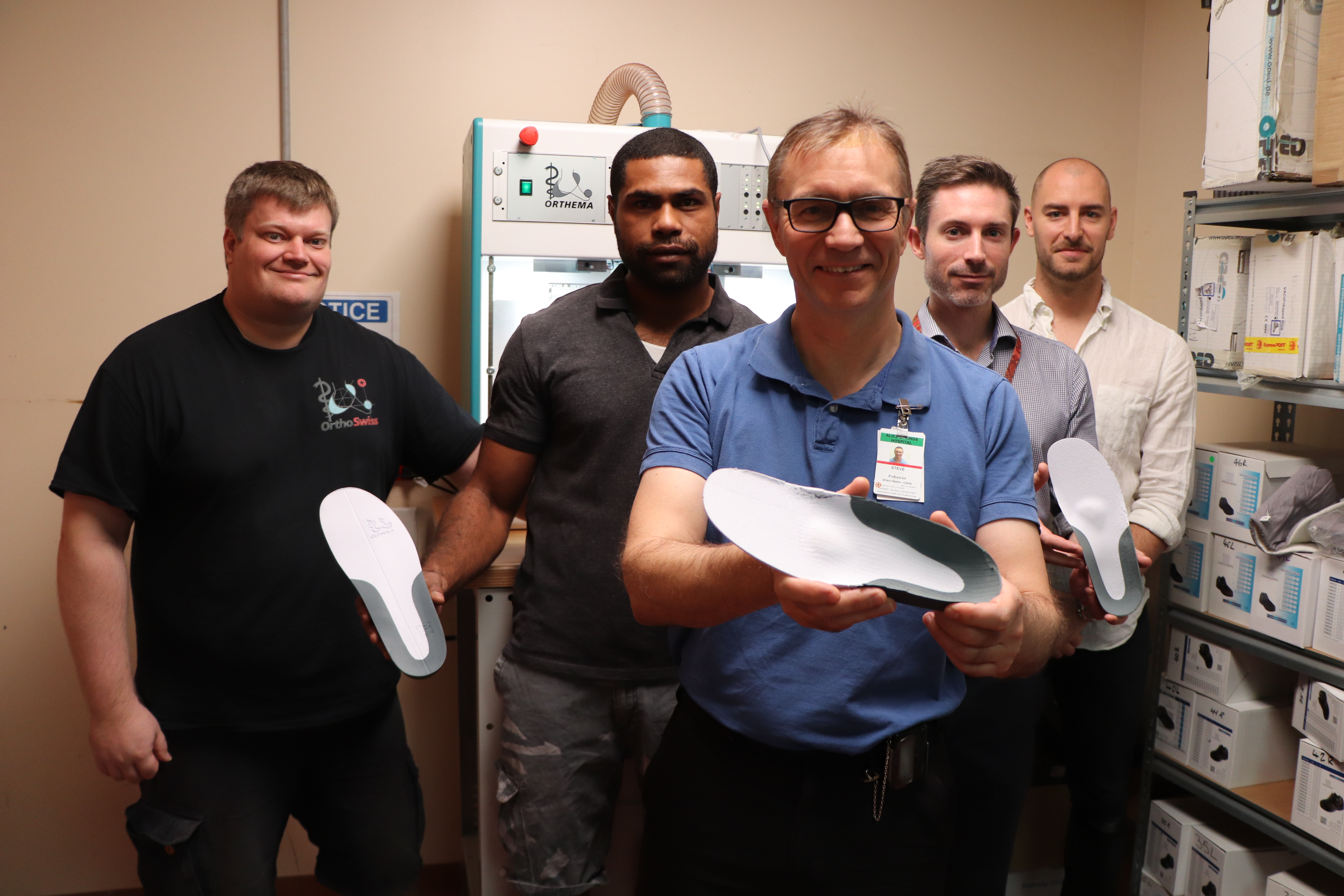 New machine brings sole to the Alice Springs Hospital